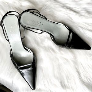 Gucci Ankle Strap Heels